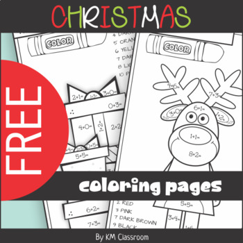 5 Free and New Math Christmas Resources for K-1
