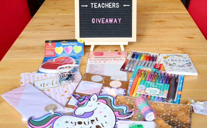 We Love Our Teachers Giveaway Preview