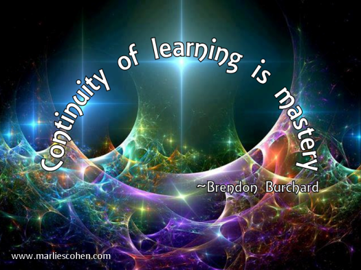 The continuity of learning