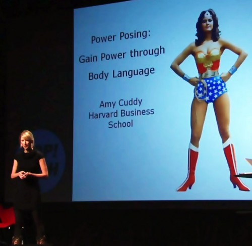 Power Posing - Amy Cuddy - Wonder Woman