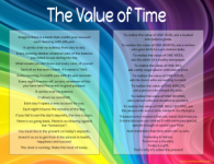 the value of time poem