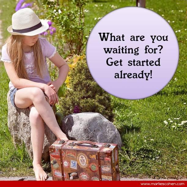 start - stop waiting