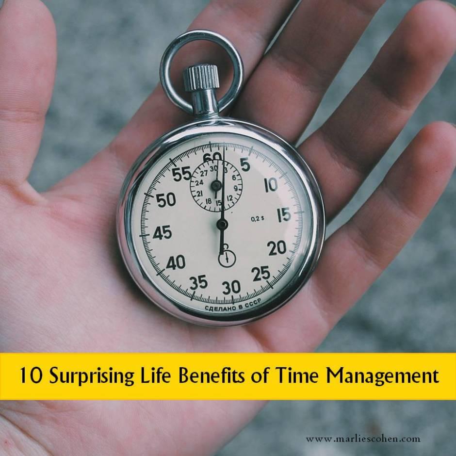 10 time management benefits