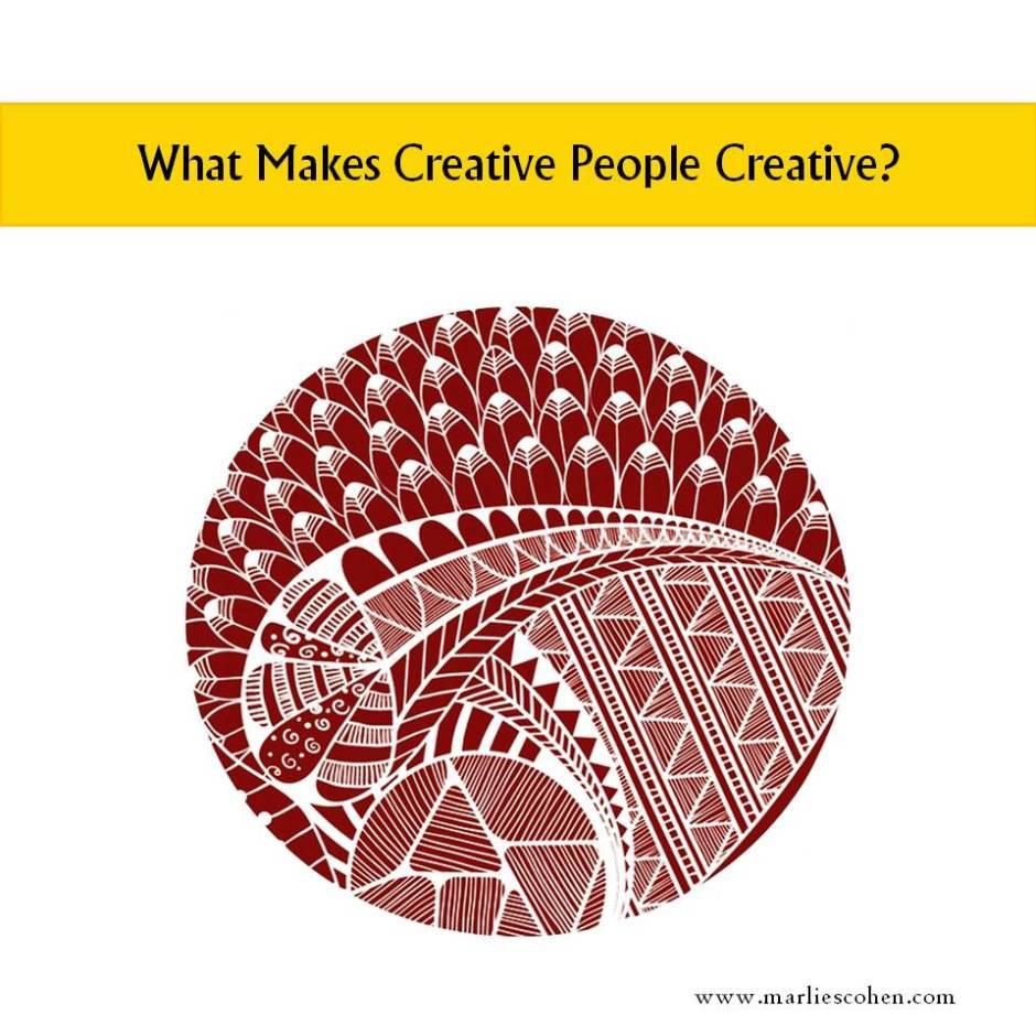 what makes creative people creative