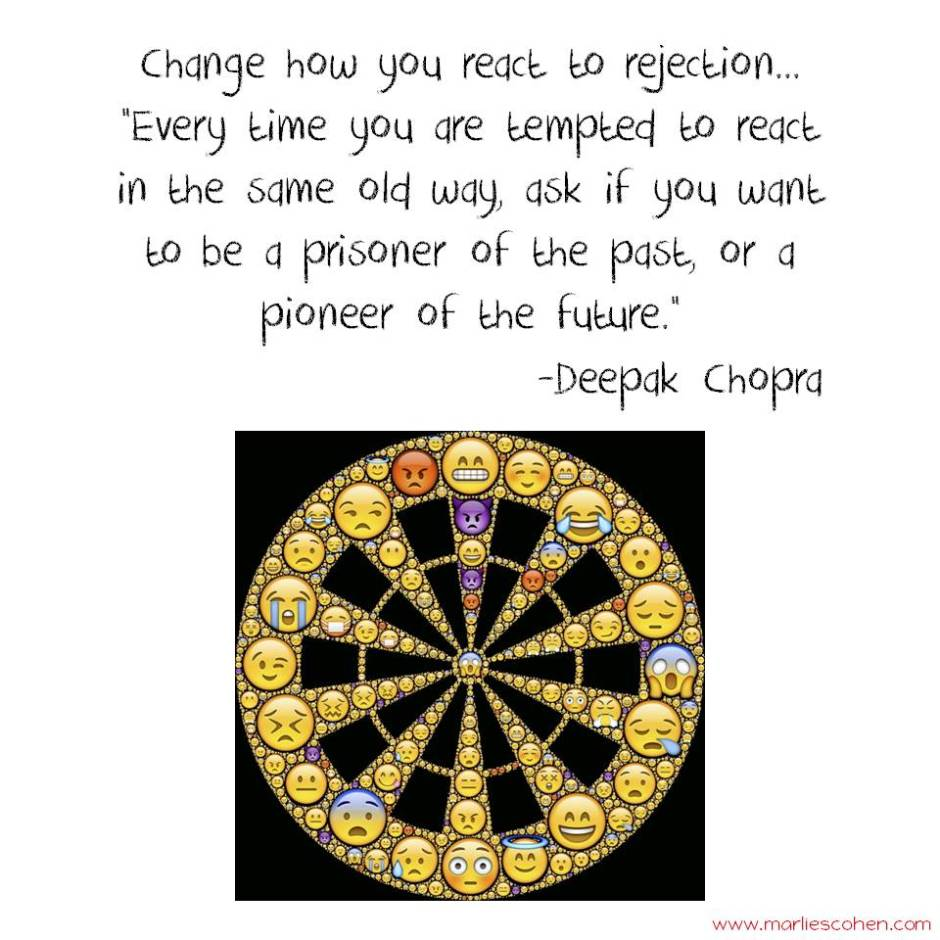 change your reaction