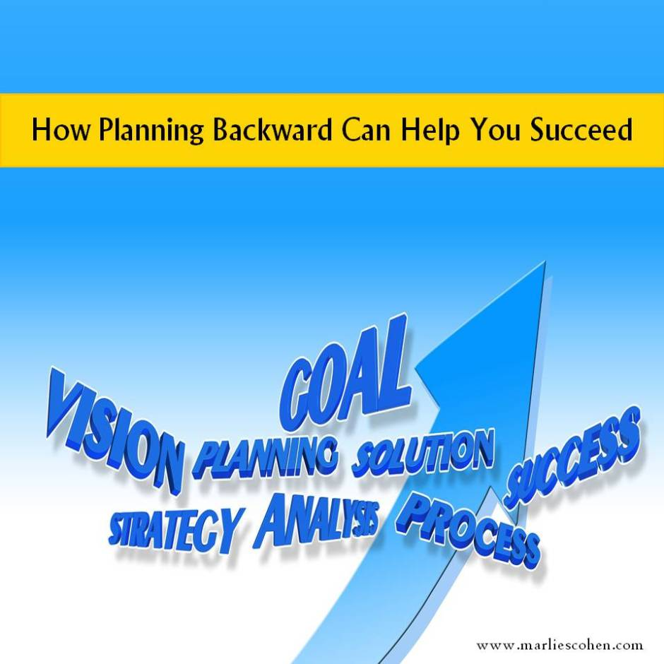 planning backward
