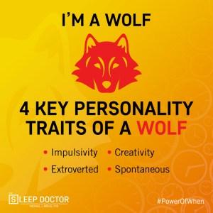 chronotype wolf