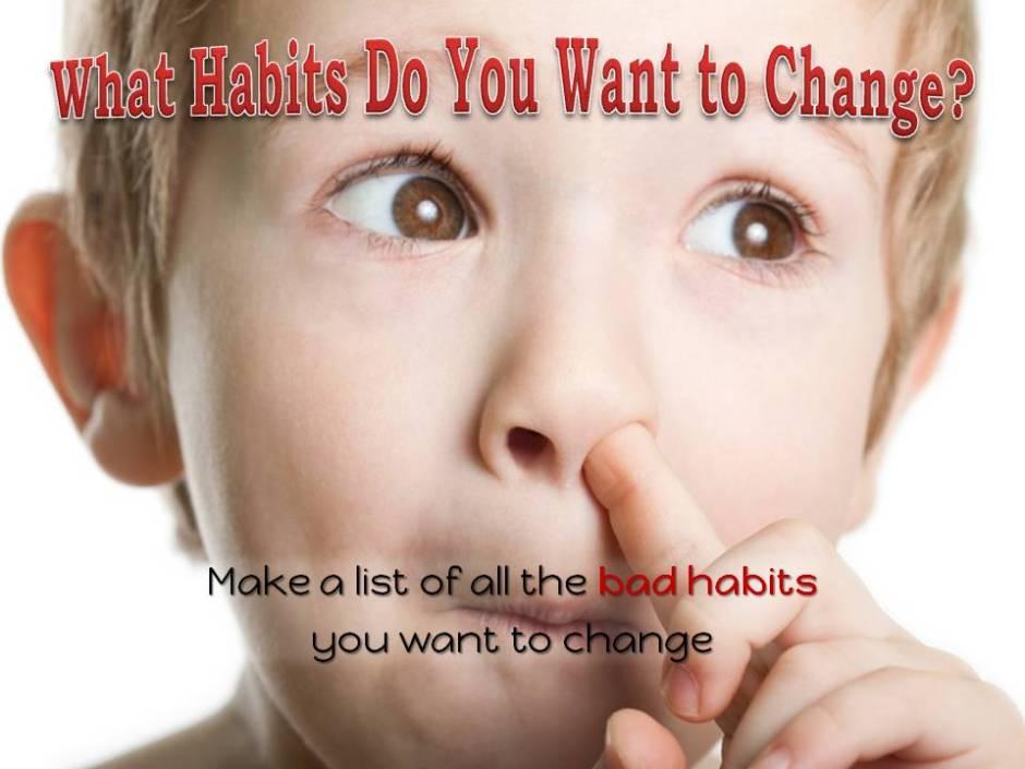 bad habit - good habit