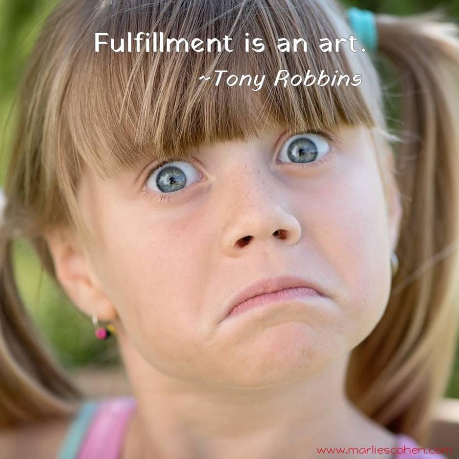 fulfillment is an art