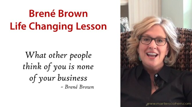 brené brown life changing lessons