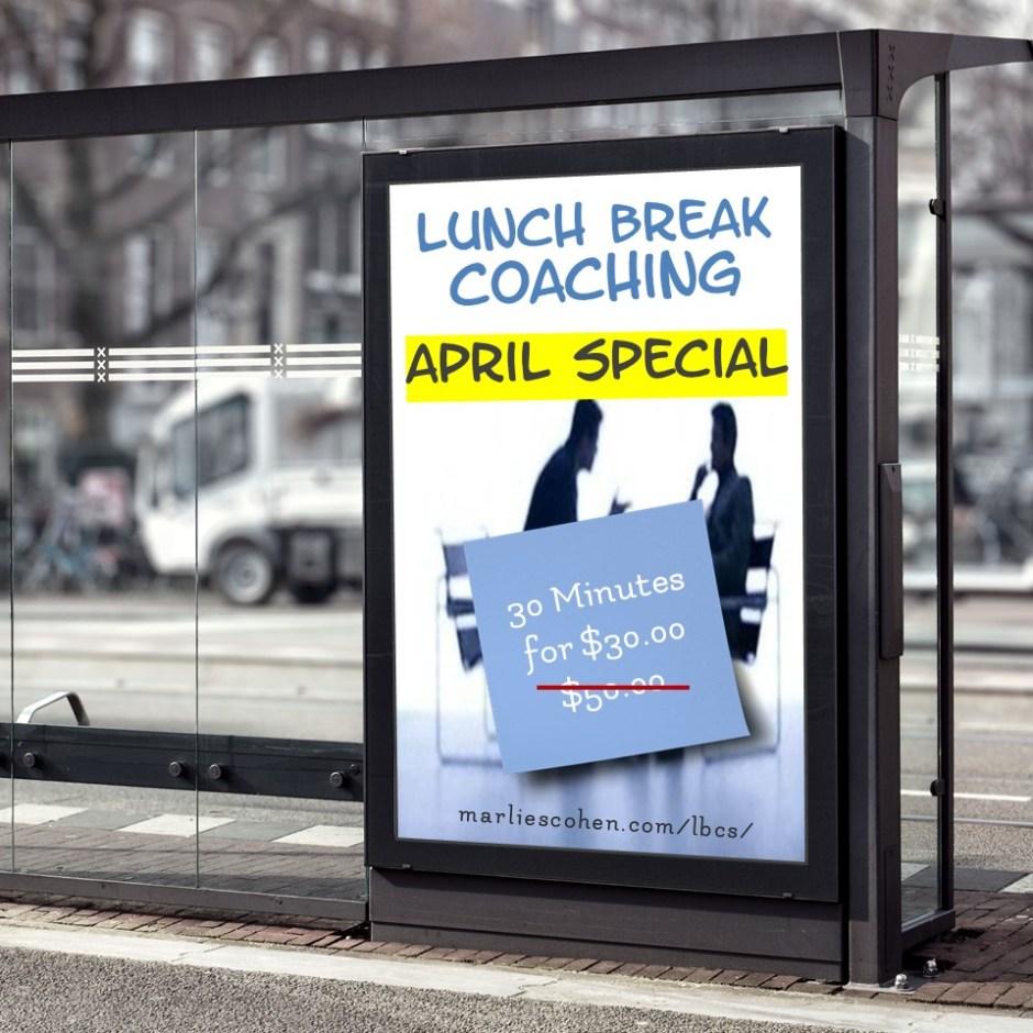 lunch break coaching - april special