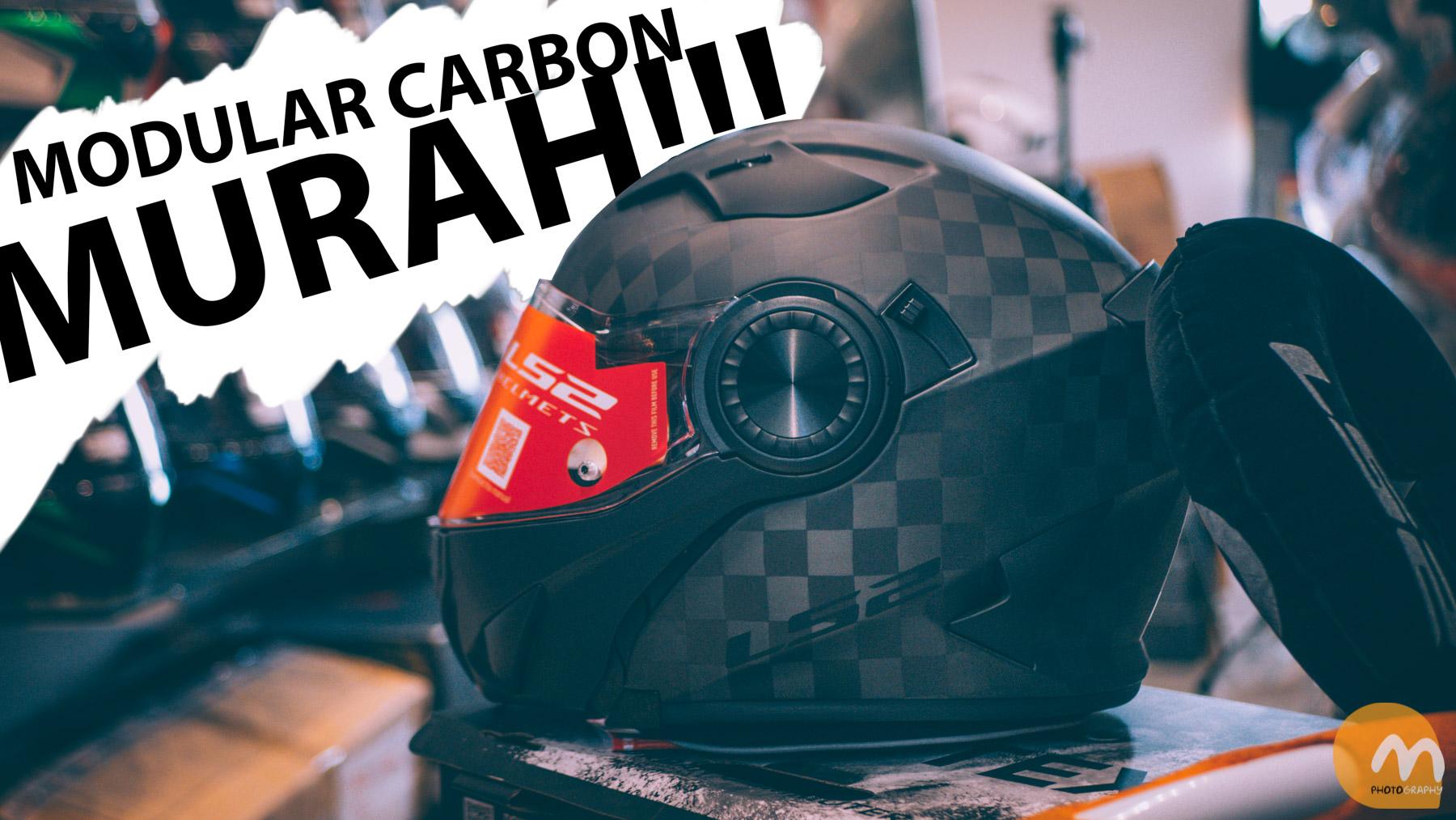 Helm Carbon Modular Murah dari LS2, LS2 Vortex