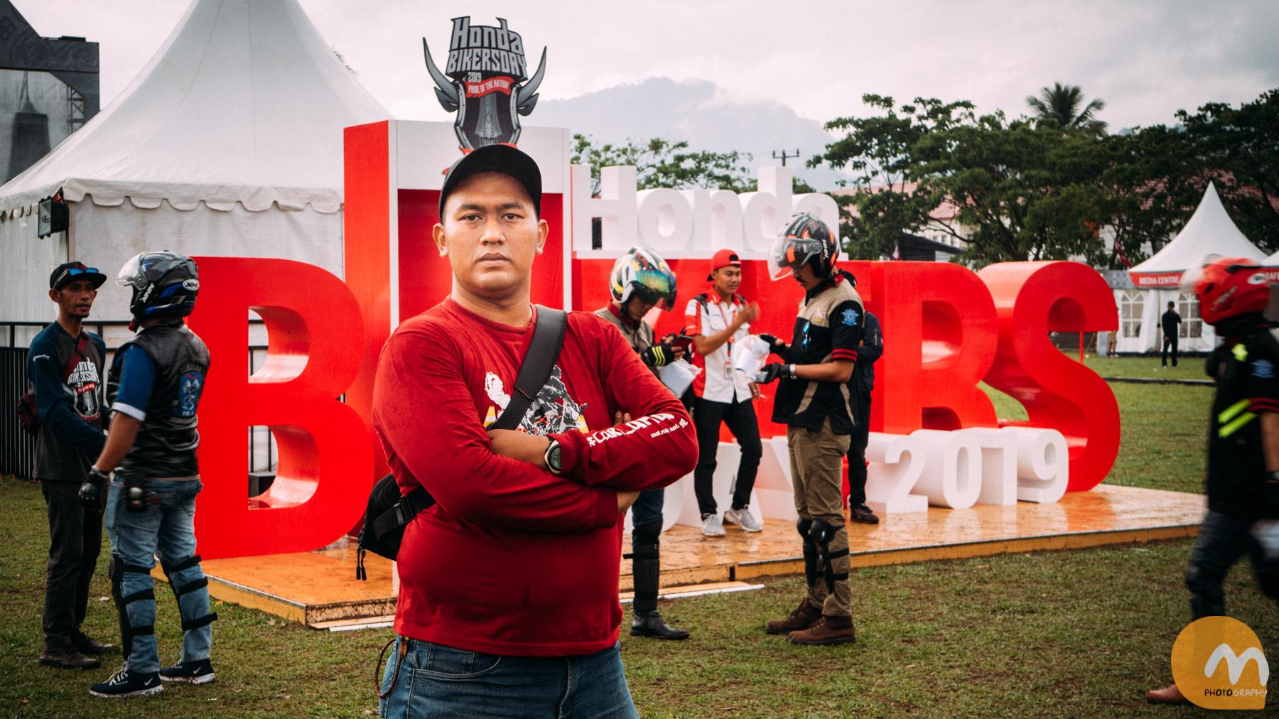 Meriahnya Honda Bikers Day Sulawesi 2019.