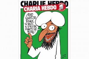 De cover van het Franse weekblad na de aanslag.