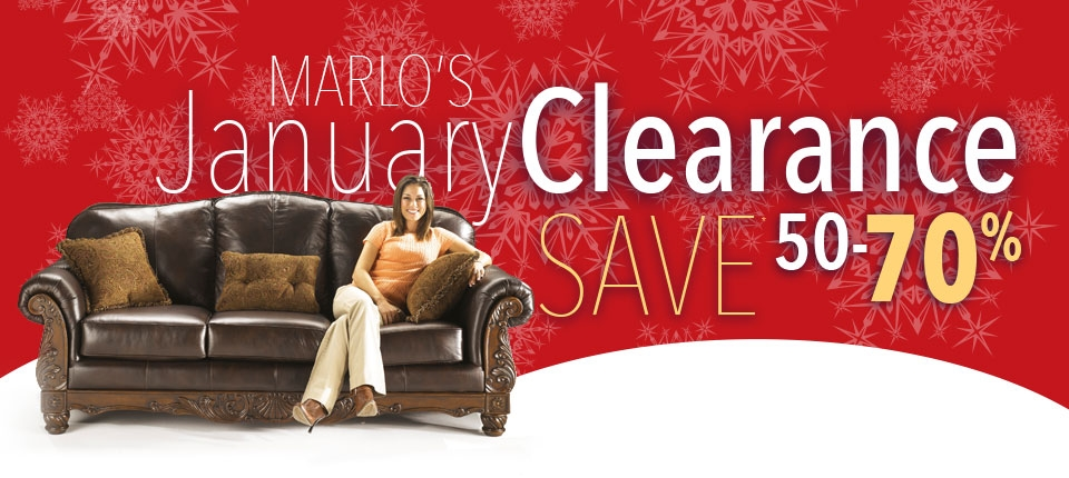 January Clearance Marlo Furniture Rockville