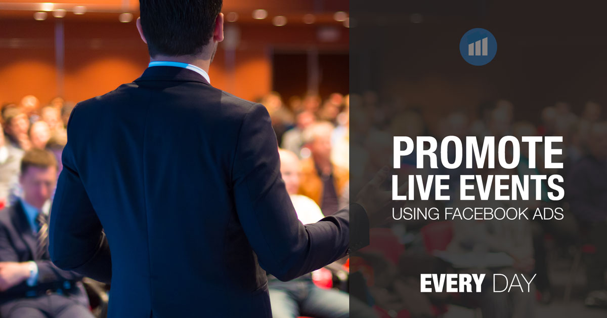 Promote live events on Facebook
