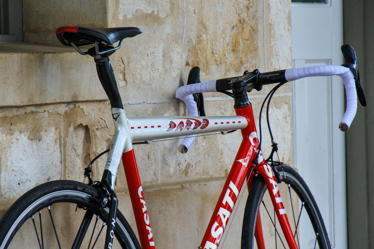 Casati Dardo Alloy Carbon Red Pearl Chorus Shamal Road Bicycle