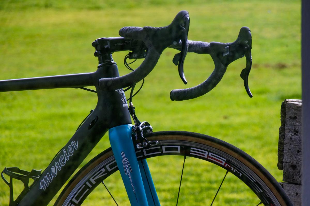 Custom Mercier Open Mould Road Bike by Marlon Quinn