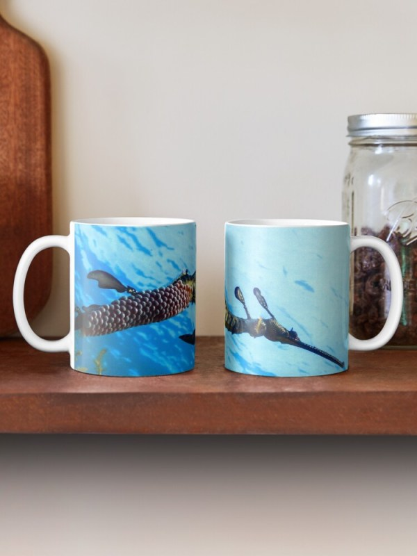 Coffee Classic Mugs Weedy Seadragon Print
