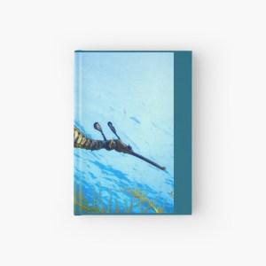 Hardcover Journal Weedy Seadragon Cover