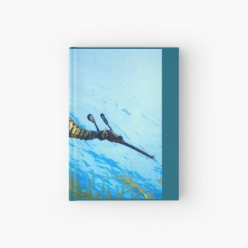 Hardcover Journal Weedy Seadragon Cover