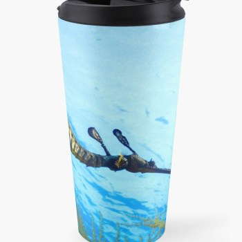 Insulated Travel Mug Weedy Seadragon Print