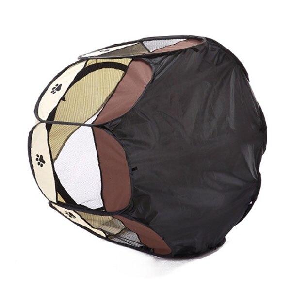Portatile Pieghevole Pet Tenda Casa Del Cane Gabbia Gabbia Gabbia Del Cane Gatto Tenda Box Cucciolo Canile Funzionamento Facile Octagon Recinzione 2810
