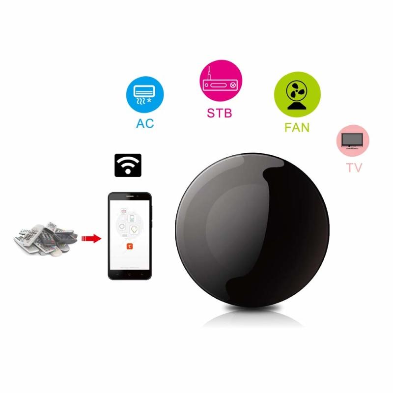 Smart Wireless wifi-telecomando IR Tuya / Smart Life Wifi telecomando a infrarossi condizionatore d'aria TV con Alexa Google Home