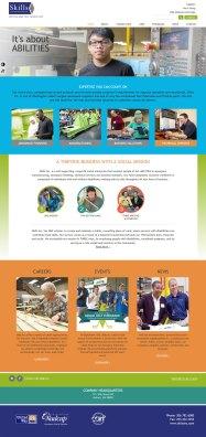 Skills Inc aerospace manufacturing website