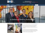 screenshot F2VM medical defense attorneys website
