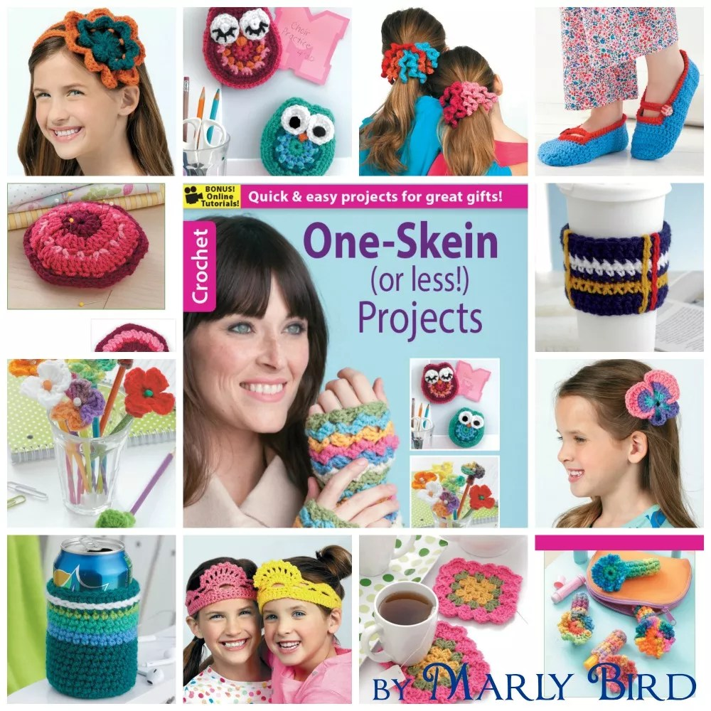 One Skein or Less Projects by Marly Bird
