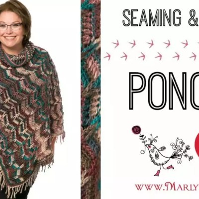 Marly Bird Poncho Crochet-along Section 3