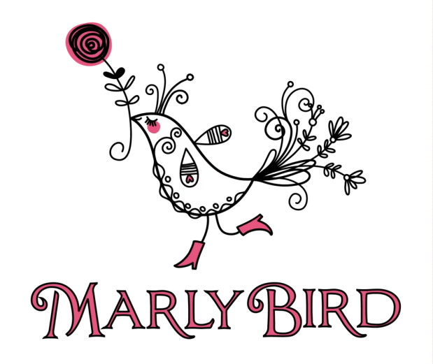 marly logo_whitebird_pinktext