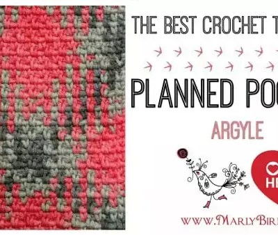 The Best Crochet Tutorial Planned Pooling Argyle