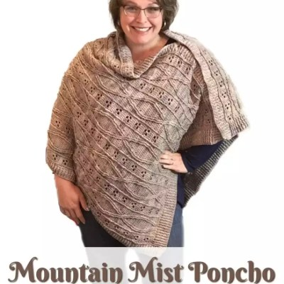 The Mountain Mist Poncho Crochet Pattern