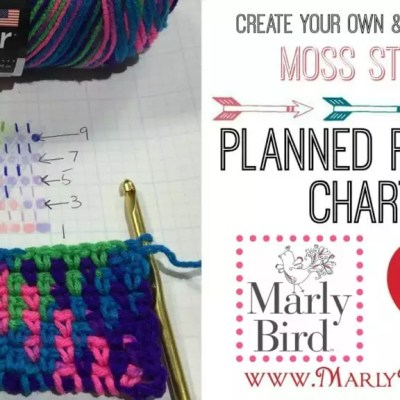 How to Create Crochet Planned Pooling Charts