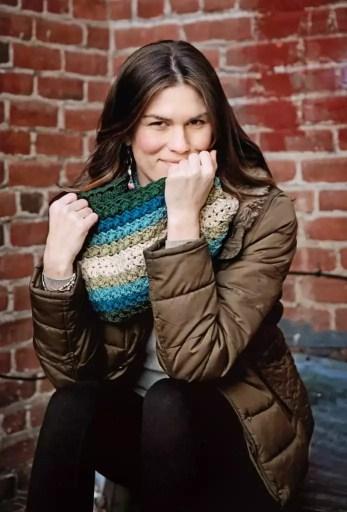 Salena Baca crochet author and teacher at the ACA
