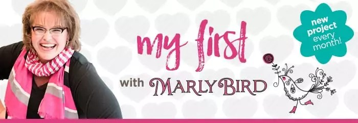My First with Marly Bird and Red Heart