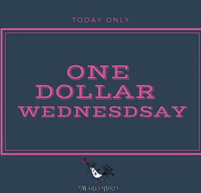 One Dollar Wednesday-Dual Cable Hat by Marly Bird