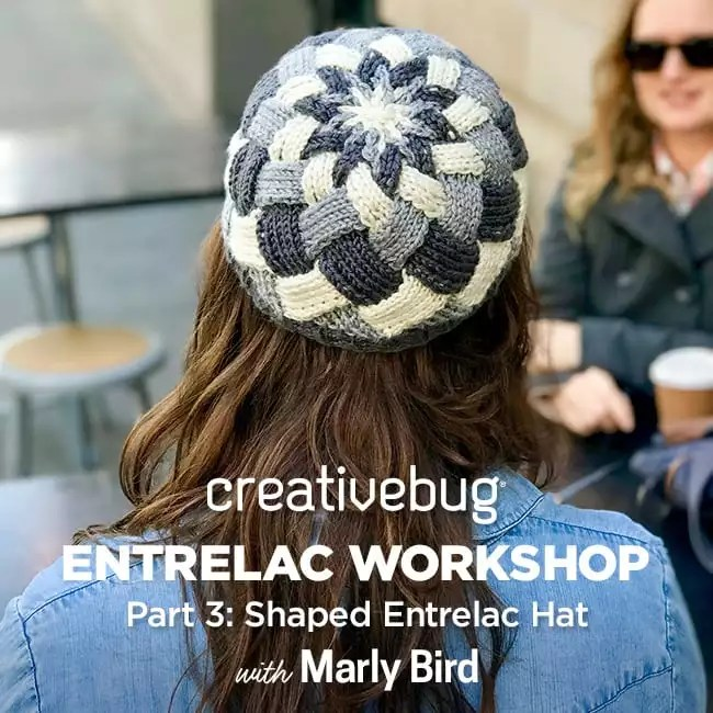 creativebug Entrelac workshop with Marly Bird