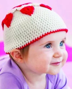 Cherish Baby Hat by Marly Bird