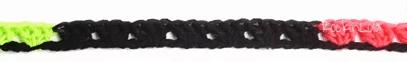 7 clusters in black