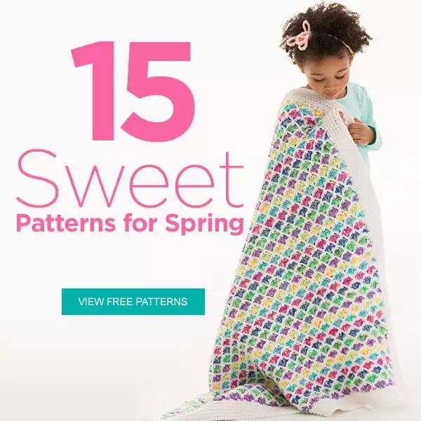 Red Heart 15 Sweet Patterns for Spring