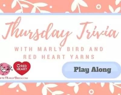 Thursday Trivia with Marly Bird 8/31/17 to 9/6/17