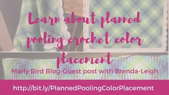 Learn about planned pooling crochet color placement