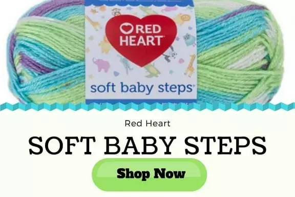 Red Heart Baby Soft Steps Yarn