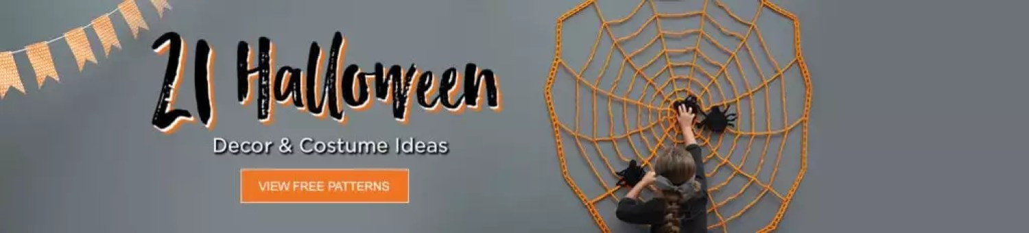 Red Heart FREE Halloween Patterns