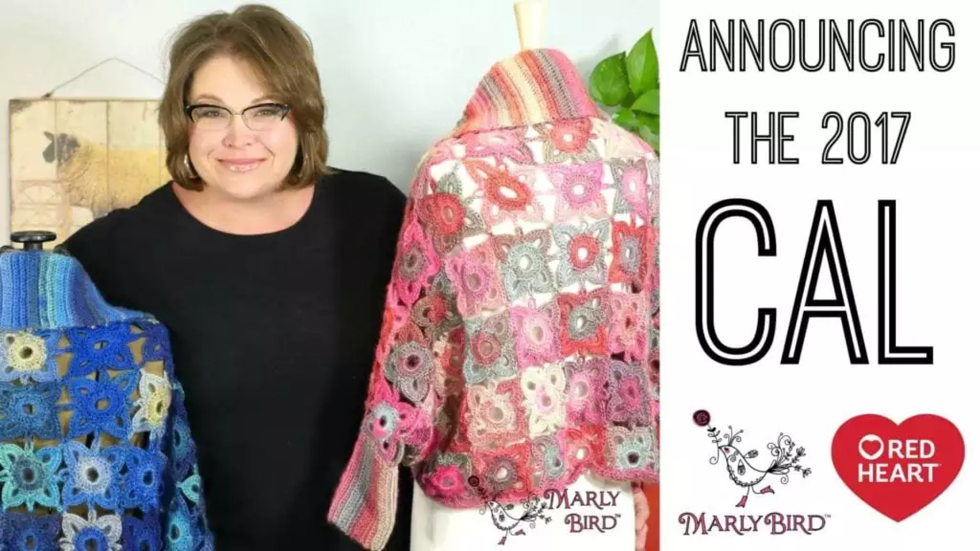2017 Crochet Along with Marly Bird and Red Heart