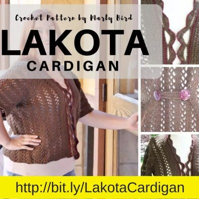 Lakota Crochet Cardigan