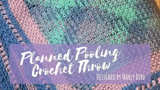 Planned Pooling Crochet Throw